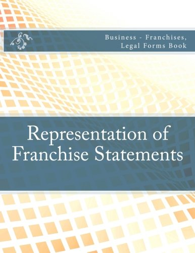 representation-of-franchise-statements-business-franchises-legal-forms-book