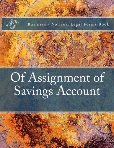 of-assignment-of-savings-account-business-notices-legal-forms-book