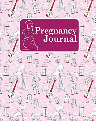 pregnancy-journal-my-pregnancy-journal-pregnancy-organizer-planner-pregnancy-journal-memory-book-girl-baby-log-book-weekly-cute-paris-music-cover-volume-48