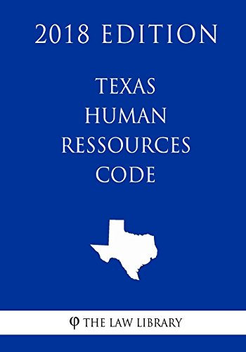 texas-human-ressources-code-2018-edition