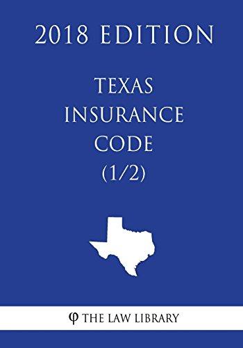 texas-insurance-code-1-2-2018-edition