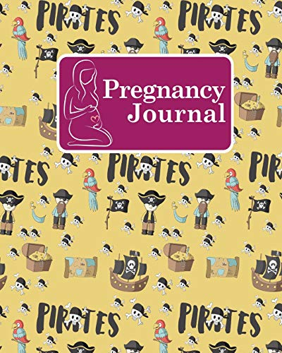 pregnancy-journal-baby-book-pregnancy-memory-book-pregnancy-journal-planner-pregnancy-baby-books-memory-book-pregnancy-planner-and-organizer-cute-pirates-cover-pregnancy-journals-volume-48