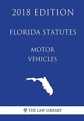 florida-statutes-motor-vehicles-2018-edition