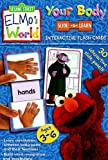 Sesame Workshop: Your Body: Sesame Street Elmo's World Slide & Learn Flash Cards