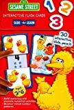 Sesame Workshop: 1 2 3: Sesame Street Slide & Learn Flash Cards