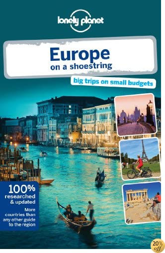 TLonely Planet Europe on a shoestring (Travel Guide)