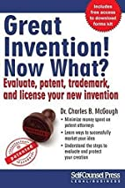 Great Invention! Now What?: Evaluate,…