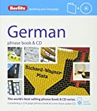 Berlitz German Phrase Book and CD (Phrase…