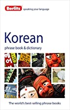 Berlitz Korean Phrase Book and Dictionary by…