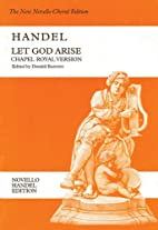 Let God Arise (Novello Handel Edition) by…