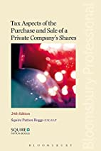 Tax Aspects of the Purchase and Sale of a…