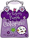 Make Believe Ideas: My Perfectly Purple Coloring Purse