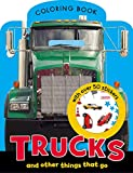Make Believe Ideas: Trucks Mini Coloring Book