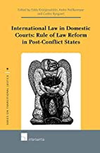 International Law in Domestic Courts: Rule…