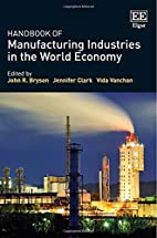Handbook of Manufacturing Industries in the…