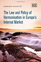 The Law and Policy of Harmonisation in…