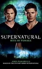 Supernatural: Rite of Passage by John…