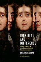 Identity And Difference: John Locke And The…