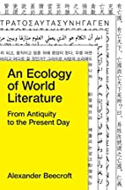 An Ecology of World Literature: From…