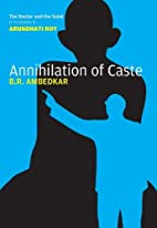 Annihilation of Caste: The Annotated…