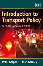 Introduction to Transport Policy: A Public…