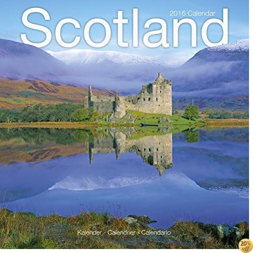 TScotland Calendar - 2016 Wall Calendars - Photo Calendar - Monthly Wall Calendar by Avonside