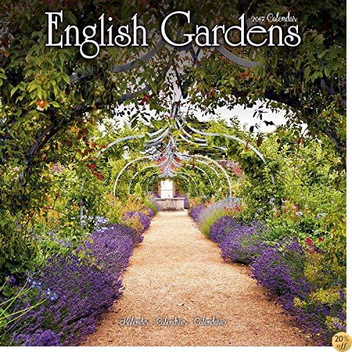 TGarden Calendar - English Gardens Calendar - Calendars 2016 - 2017 Wall Calendars - Flower Calendar - English Gardens 16 Month Wall Calendar by Avonside
