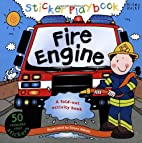 Sticker Playbook - Fire Engine (Playbooks)…