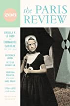 Paris Review Issue 206 (Autumn 2013) by…