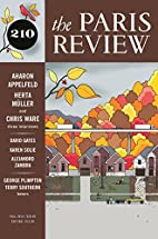 The Paris Review 210 2014 by Lorin Stein