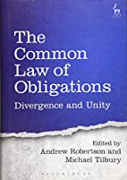 The common law of obligations : divergence…