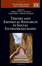 Theory and Empirical Research in Social…