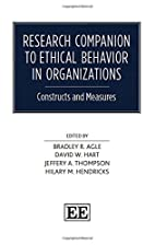 Research Companion to Ethical Behavior in…