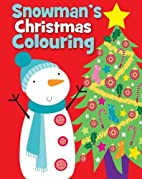 Christmas Colouring Snowman