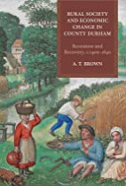 Rural Society and Economic Change in County…