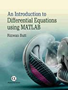 An Introduction to Differential Equations…