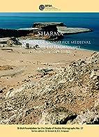 Sharma: Un entrepot de commerce medieval sur…