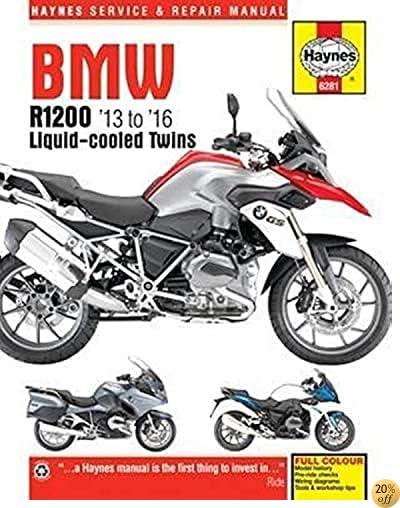 TBMW R1200 '13 to '16 Liquid-cooled Twins (Haynes Service & Repair Manual)