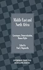 Middle East and North Africa : governance,…