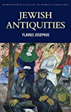 Jewish Antiquities by Flavius Josephus