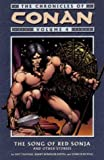 Howard, Robert E.: The Chronicles of Conan, Vol. 4: The Song of Red Sonja and Other Stories (v. 4)