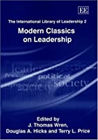 The international library of leadership by…
