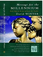 Message for the Millennium by David Winter