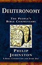 Deuteronomy (Peoples Bible Commentary) by…