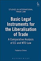 Basic Legal Instruments for the…