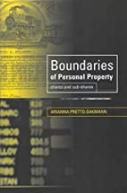 Boundaries of Personal Property Law: Shares…
