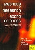 Methods of research in sport sciences:…