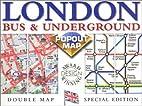 London Bus & Underground Popout Map: Double…