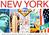 [???]: New York Popout Map: Double Edition, Manhattan Maps