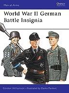 World War II German Battle Insignia by…